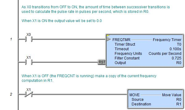 FREQTMR - Frequency Timer